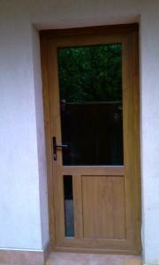 Алуминиева врата