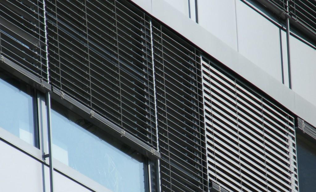 Външни алуминиеви хоризонтални щори